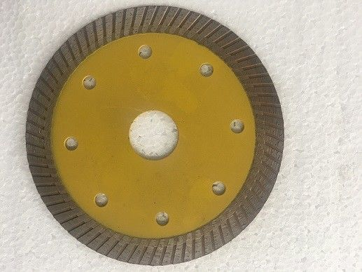 Orange 4 / 5 Inch Turbo Diamond Saw Blade , Diamond Turbo Cup Wheel