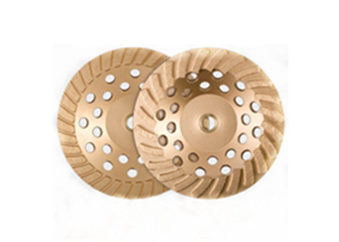 Multiple Color Diamond Cup Wheel Silver Brazed Angle Grinder Concrete Sanding Disc