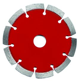 Red Color Longlife Laser Welded Saw Blade For Concrete Block Gp Saw Blade